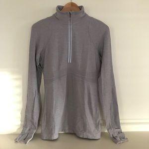 lululemon athletica   1/2 zip Rulu run pullover